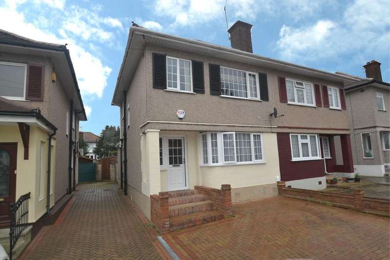 3 Bedrooms Semi Detached House for sale in Larchwood Avenue, Collier Row