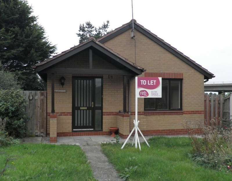 2 Bedrooms Detached Bungalow for rent in Kerfoot Avenue, Rhuddlan, LL18
