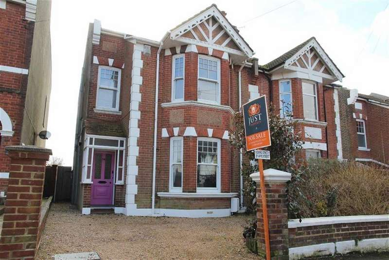 4 Bedrooms Semi Detached House for sale in Canute Road, Hastings