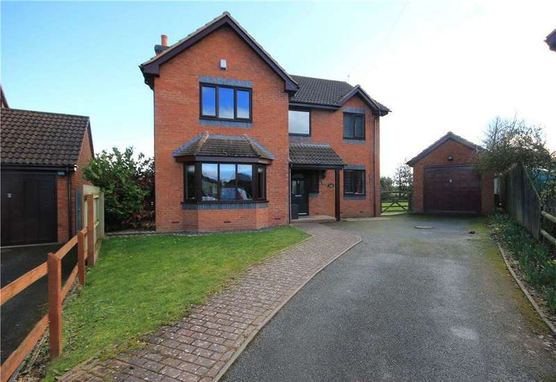 4 Bedrooms Detached House for sale in Gosmore Road, Clehonger, Hereford, HR2
