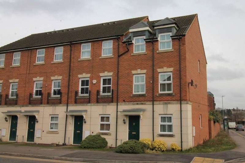 3 Bedrooms End Of Terrace House for sale in Lathkill Street, Market Harborough