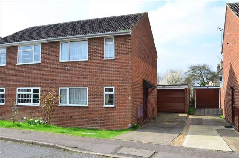 3 Bedrooms Semi Detached House for sale in Russet Way, MELBOURN, SG8