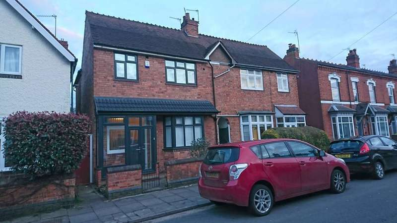 2 Bedrooms Semi Detached House for rent in Gaddesby Road, Kings Heath, Birmingham B14