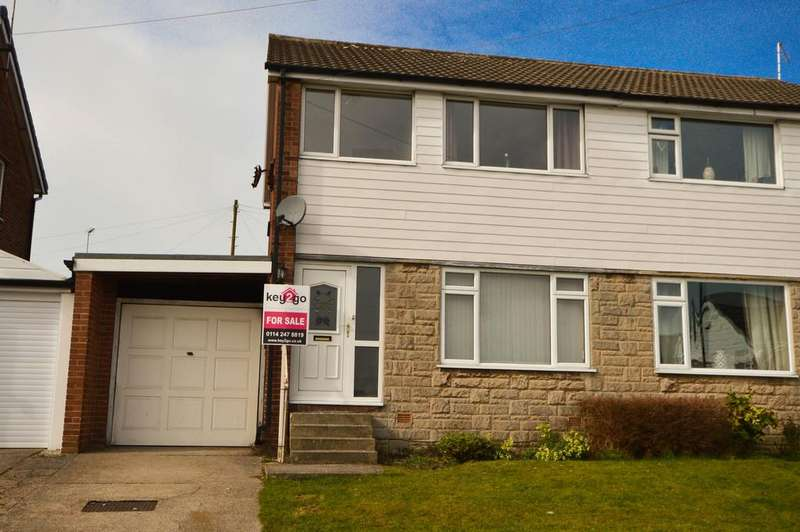 3 Bedrooms Semi Detached House for sale in Woodnook Grove, Marsh Lane, Sheffield, S21