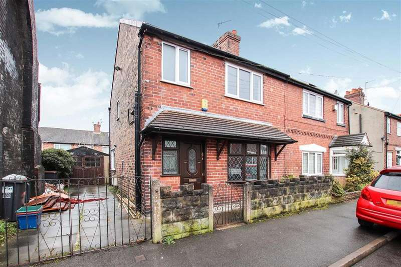 3 Bedrooms Semi Detached House for sale in Clifton Street,May Bank, Newcastle, Staffs