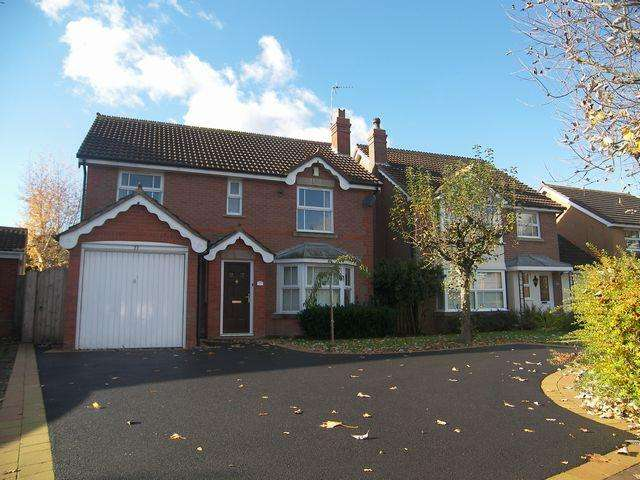 4 Bedrooms Detached House for rent in Chelveston Crescent, Solihull, B91