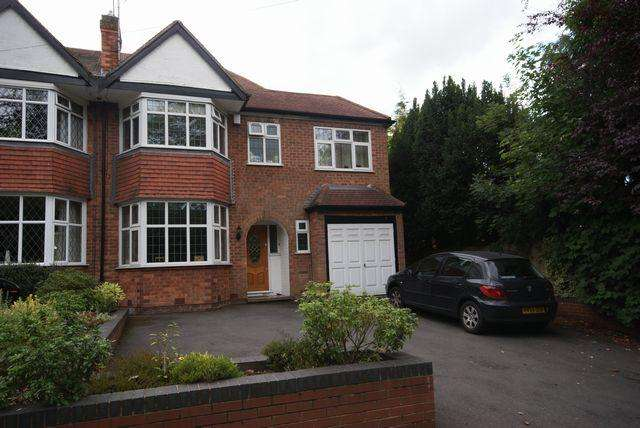 4 Bedrooms Semi Detached House for rent in Church Hill Road, Solihull, B91