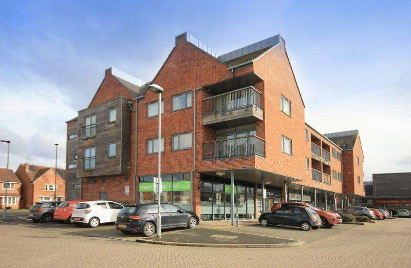 2 Bedrooms Apartment Flat for sale in SANDLEFORD HOUSE, CHELLASTON