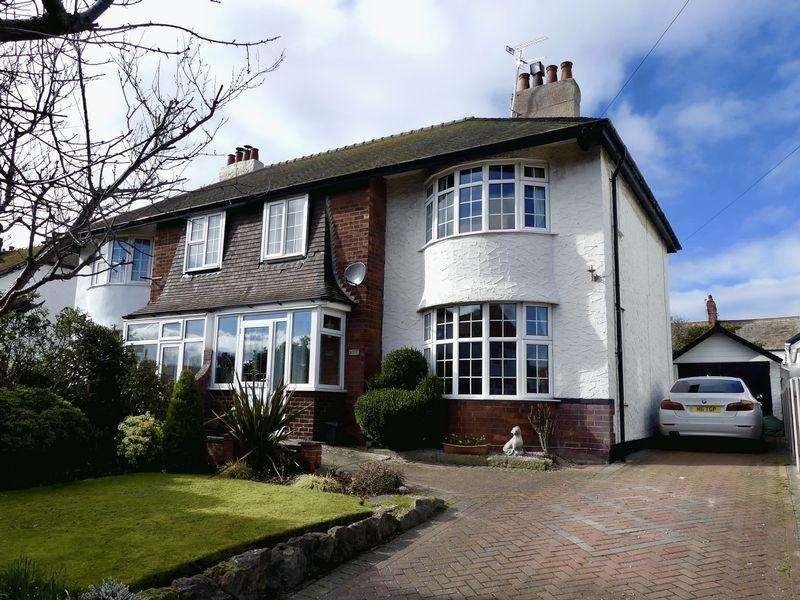 3 Bedrooms Semi Detached House for sale in Pendorlan Road, Llandudno