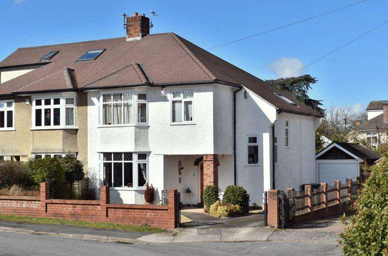 4 Bedrooms Semi Detached House for sale in Cote Park, Westbury on Trym