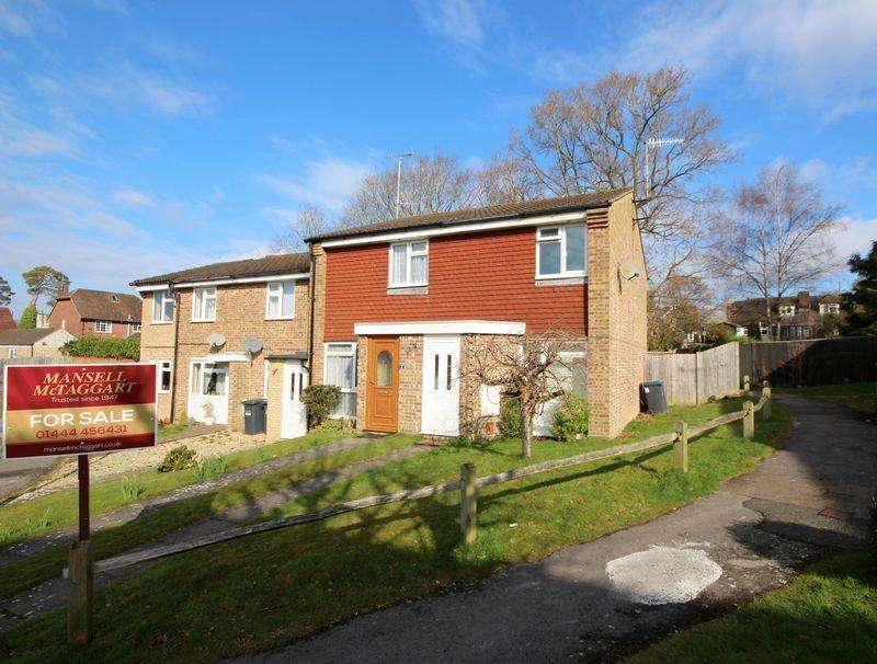 2 Bedrooms End Of Terrace House for sale in Ryecroft, Haywards Heath