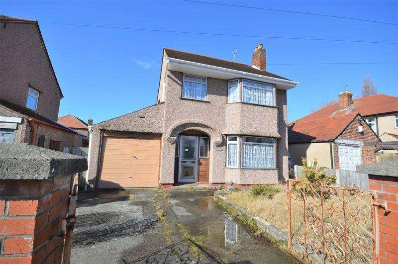 3 Bedrooms Detached House for sale in Devonshire Road, Saughall Massie
