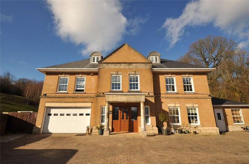 6 Bedrooms Detached House for sale in Royal Oak Hill, Christchurch, Newport, NP18