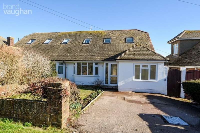 4 Bedrooms Semi Detached House for sale in Rodmell Avenue, Saltdean, Brighton, BN2