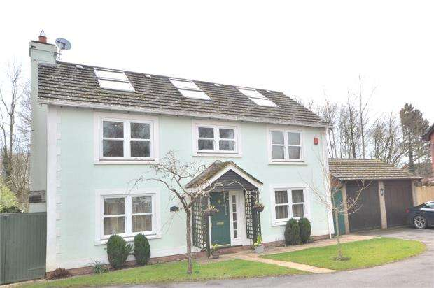 5 Bedrooms Detached House for sale in Yew Tree Close, Bramley, Tadley