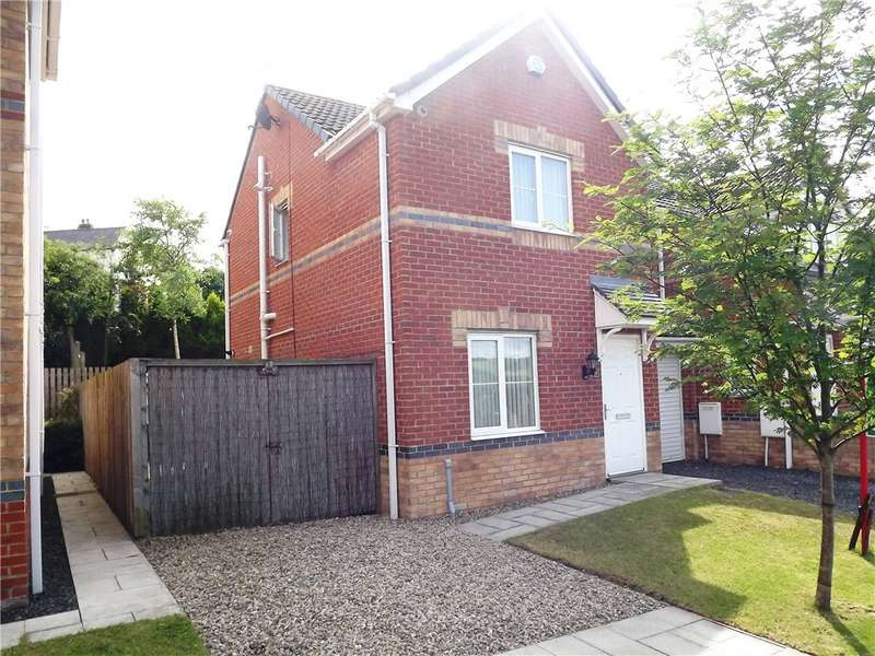 2 Bedrooms Semi Detached House for sale in Barley Rise, New Brancepeth, Durham, DH7