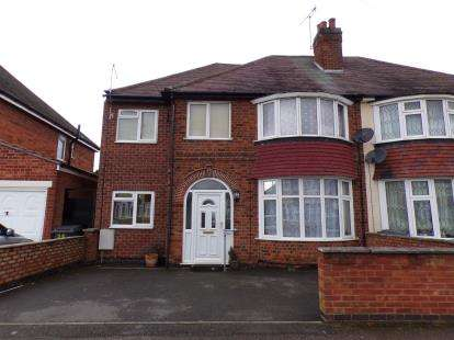 4 Bedrooms Semi Detached House for sale in Parkstone Road, Leicester, Leicestershire, England