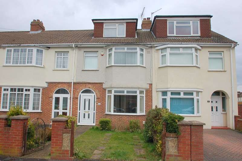 3 Bedrooms Terraced House for sale in Hastings Avenue, Elson, Gosport