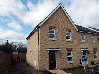3 Bedrooms Semi Detached House for sale in Downham Market, Norfolk