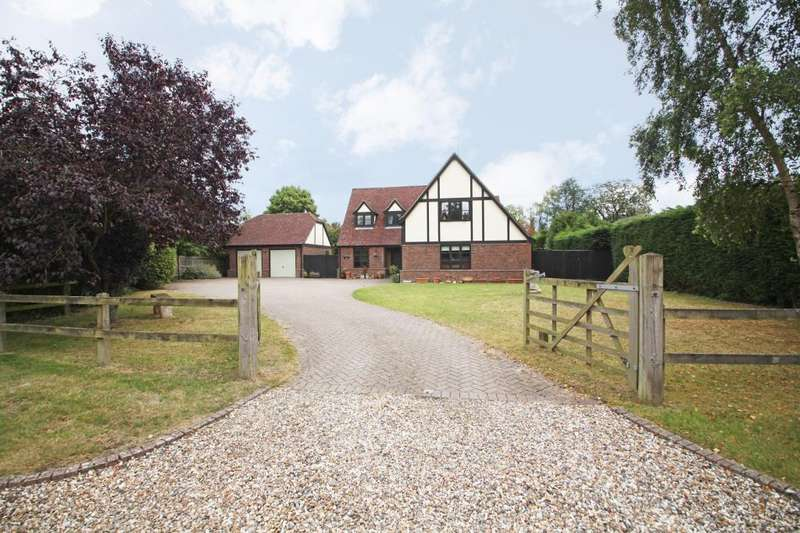 4 Bedrooms Detached House for rent in Burghfield Bridge, Burghfield, Reading, Berkshire, RG30
