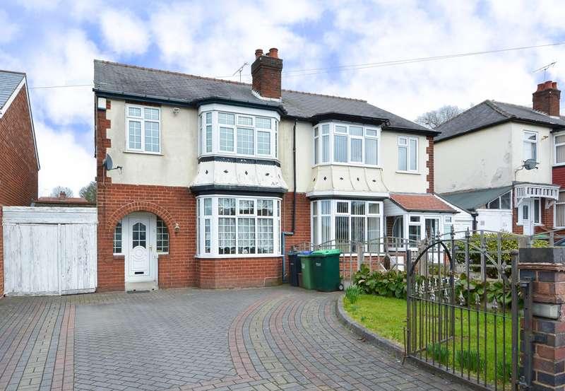3 Bedrooms Semi Detached House for sale in Wolverhampton Road, Oldbury, B68