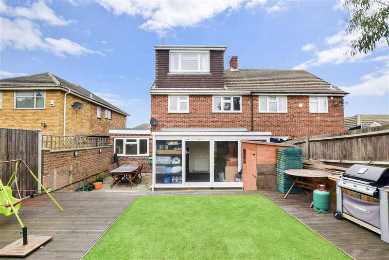 4 Bedrooms Semi Detached House for sale in Robson Drive, , Aylesford, Kent