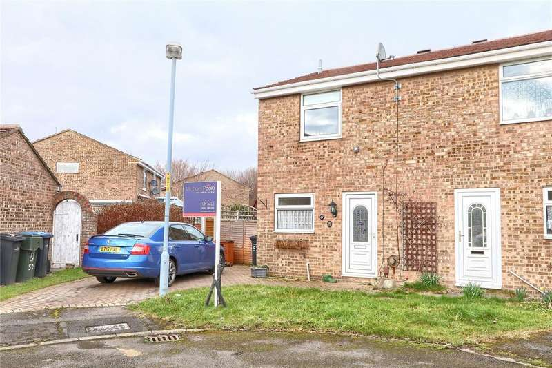 2 Bedrooms Semi Detached House for sale in Hollowfield, Coulby Newham