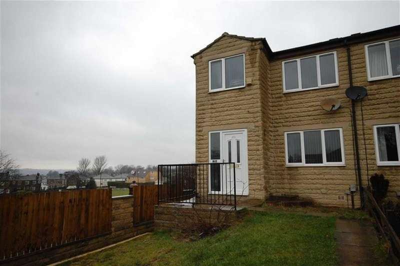 3 Bedrooms Semi Detached House for sale in Clarkson Close, Heckmondwike, West Yorkshire, WF16