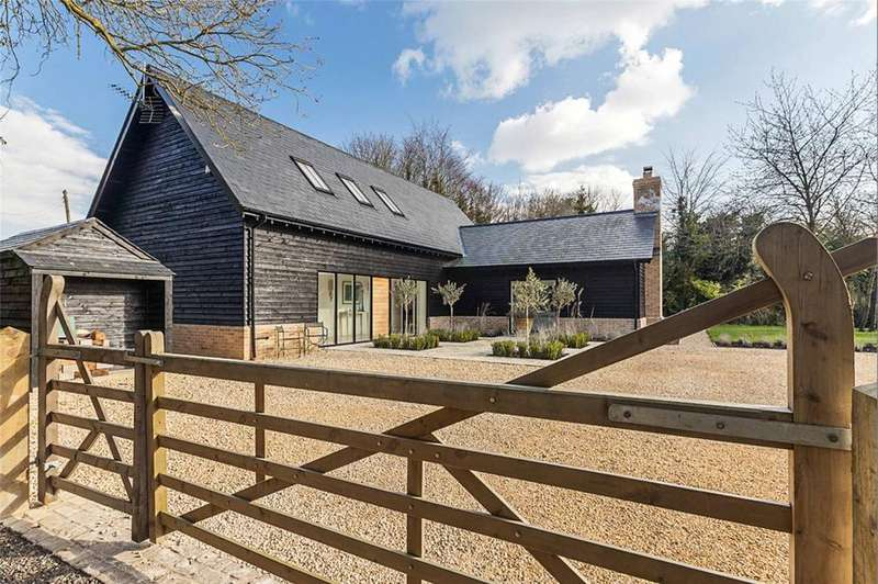 4 Bedrooms Detached House for sale in Orchard Barn, 58A Hay Street, Steeple Morden, Cambridgeshire