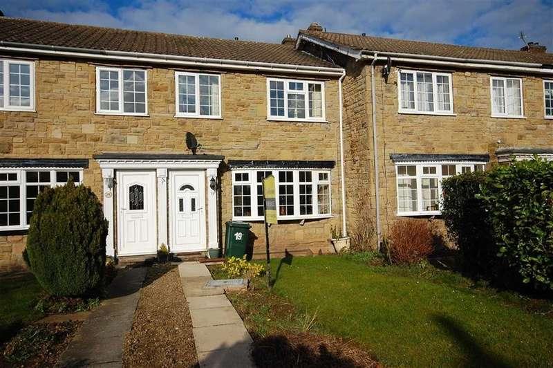 3 Bedrooms Terraced House for sale in Deer Park Court, Monk Fryston, Leeds, LS25