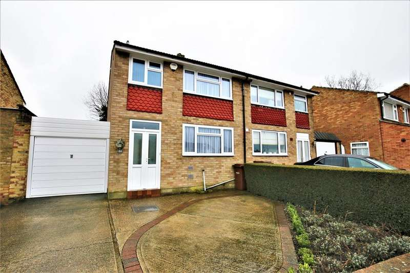 3 Bedrooms Semi Detached House for sale in Harptree Drive, Chatham