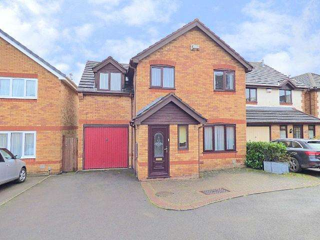 4 Bedrooms Detached House for sale in Bishops Gate, Northfield, Birmingham B31