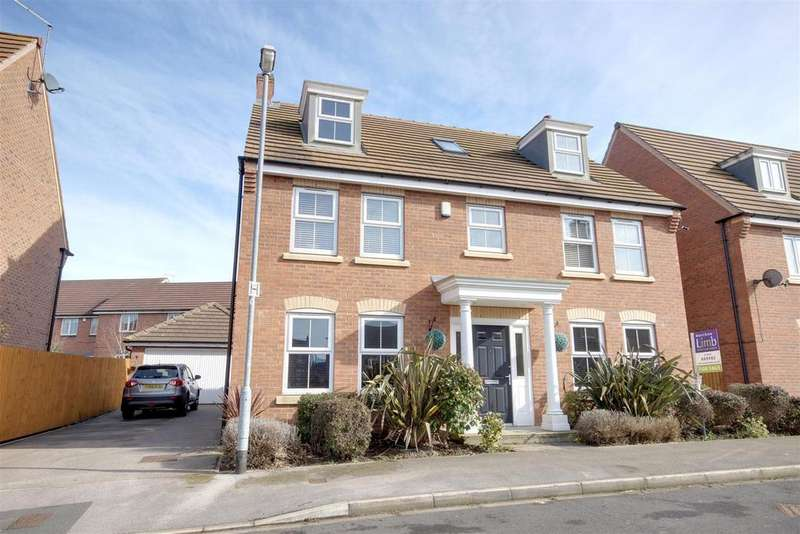 5 Bedrooms Detached House for sale in Millias Close, Brough
