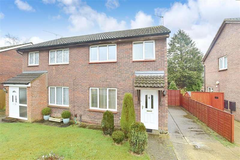 3 Bedrooms Semi Detached House for sale in Wooding Grove, Tollgate Hill, Crawley, West Sussex