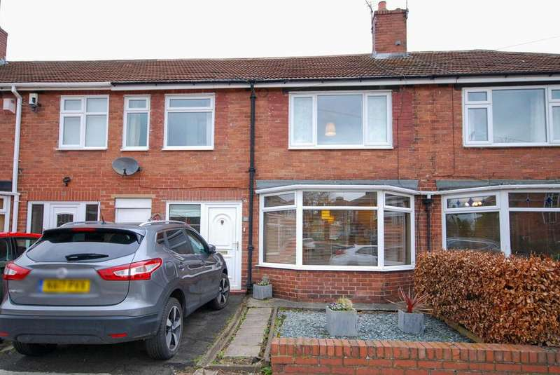 3 Bedrooms Terraced House for sale in Marlborough Avenue, Gosforth