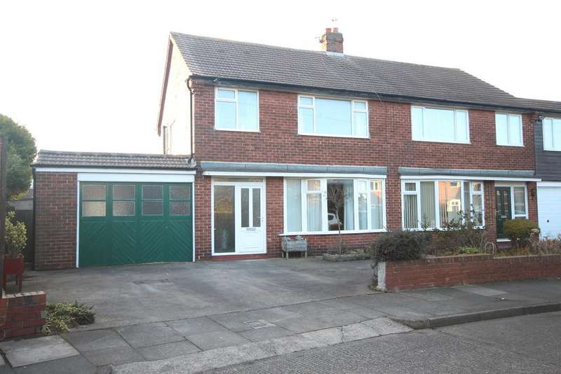 3 Bedrooms Semi Detached House for sale in Regents Drive, Tynemouth, NE30