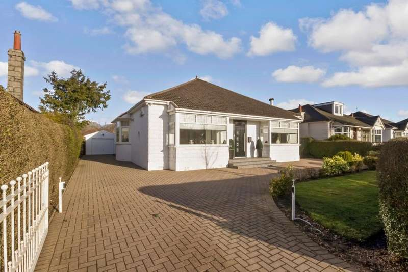 3 Bedrooms Detached Bungalow for sale in 79 Eastwoodmains Road, Clarkston, G76 7HQ