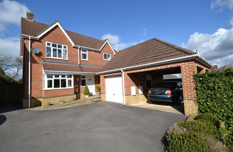 4 Bedrooms Detached House for sale in Woodland Avenue, Dursley, GL11 4EW