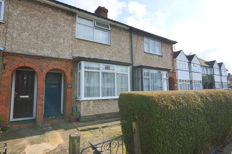 2 Bedrooms Terraced House for sale in Stapleford Road, Putteridge, Luton, LU2 8AY