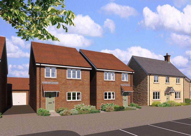 3 Bedrooms Detached House for sale in Plot 14, The Coxwell, Monks Walk, OX13 6GG