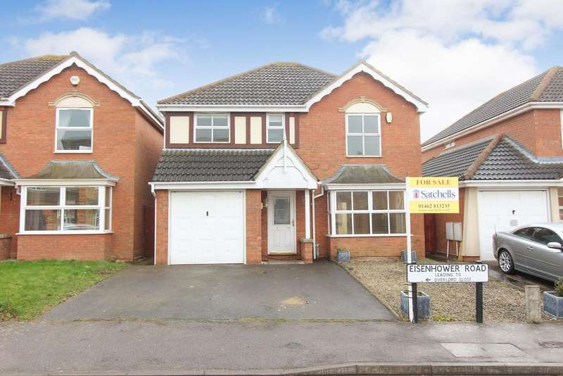 4 Bedrooms Detached House for sale in Eisenhower Road, Shefford, SG17