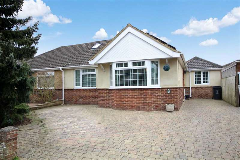 3 Bedrooms Semi Detached Bungalow for sale in Riverdale Close, Old Town, Swindon