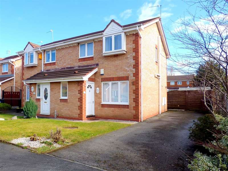 3 Bedrooms Semi Detached House for sale in St Lukes Way, Huyton, Liverpool