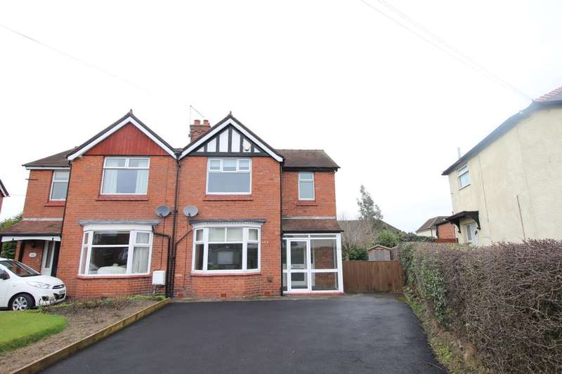 3 Bedrooms Semi Detached House for rent in Middlewich Road, Holmes Chapel, Crewe, CW4