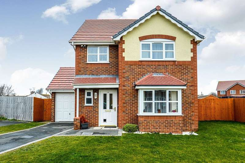 3 Bedrooms Detached House for sale in Parc Morfa, Kinmel Bay, Rhyl, LL18