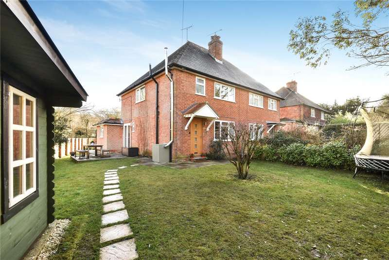 3 Bedrooms Semi Detached House for sale in Springmead Cottages, Tilford Road, Churt, Farnham, GU10