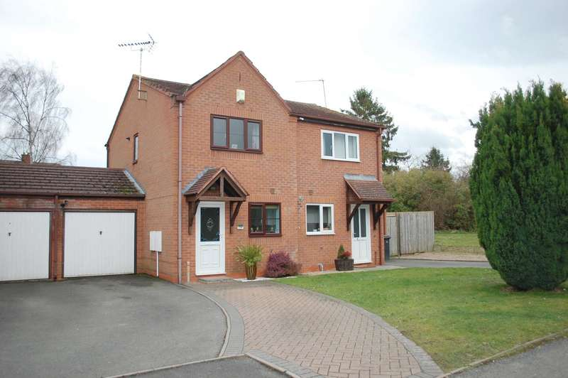 2 Bedrooms Semi Detached House for sale in Allwoods Close, Alcester, B49