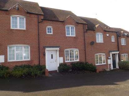 3 Bedrooms Terraced House for sale in Wharf Gardens, Bingham, Nottingham