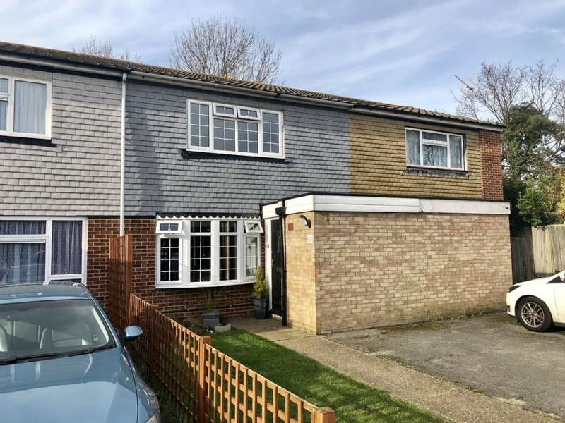 2 Bedrooms Terraced House for sale in Aldwych Close, Hornchurch