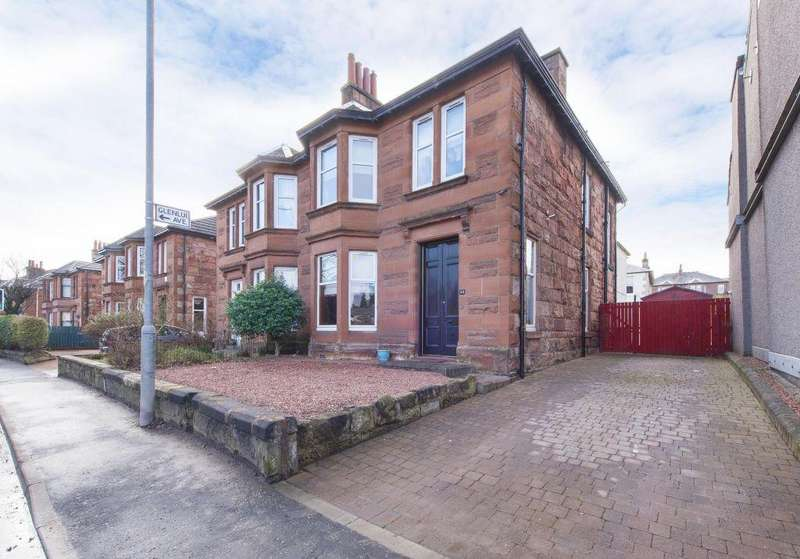 4 Bedrooms Semi Detached House for sale in 52 Blairbeth Road, Burnside, Glasgow, G73 4JQ